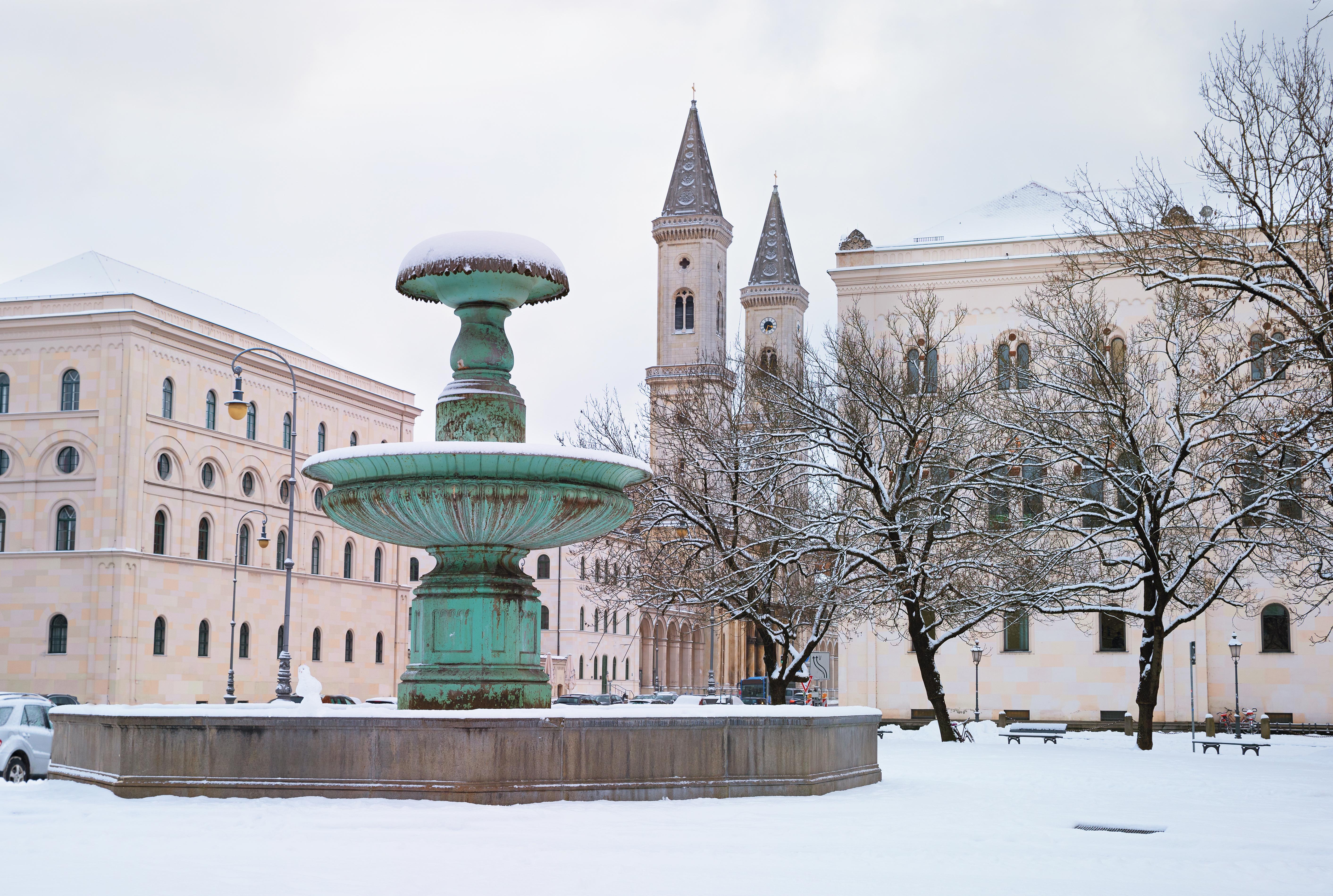 Мюнхенский университет имени Людвига и Максимилиана, в котором иностранцы могут бесплатно обучатся