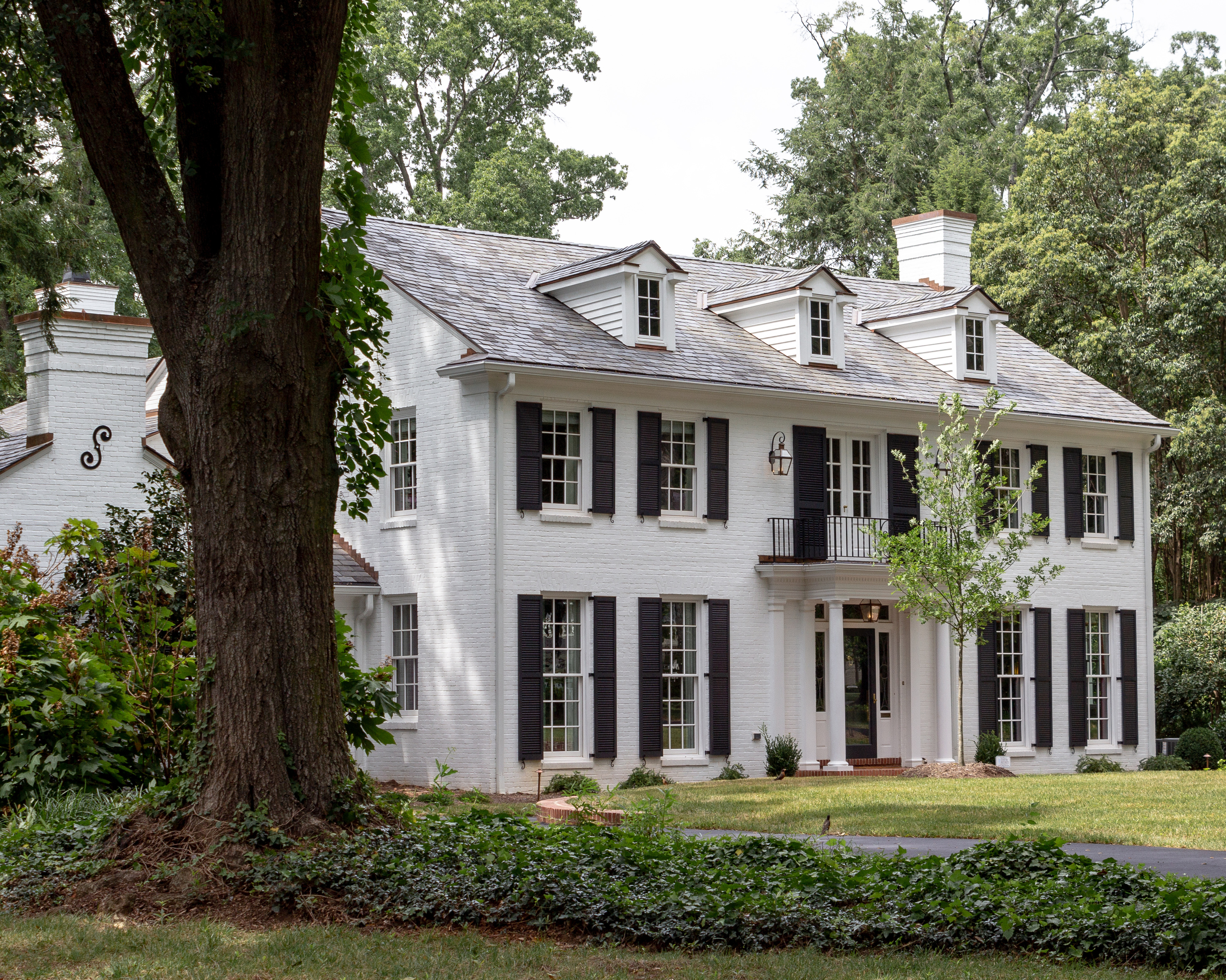 Традиционный американский дом