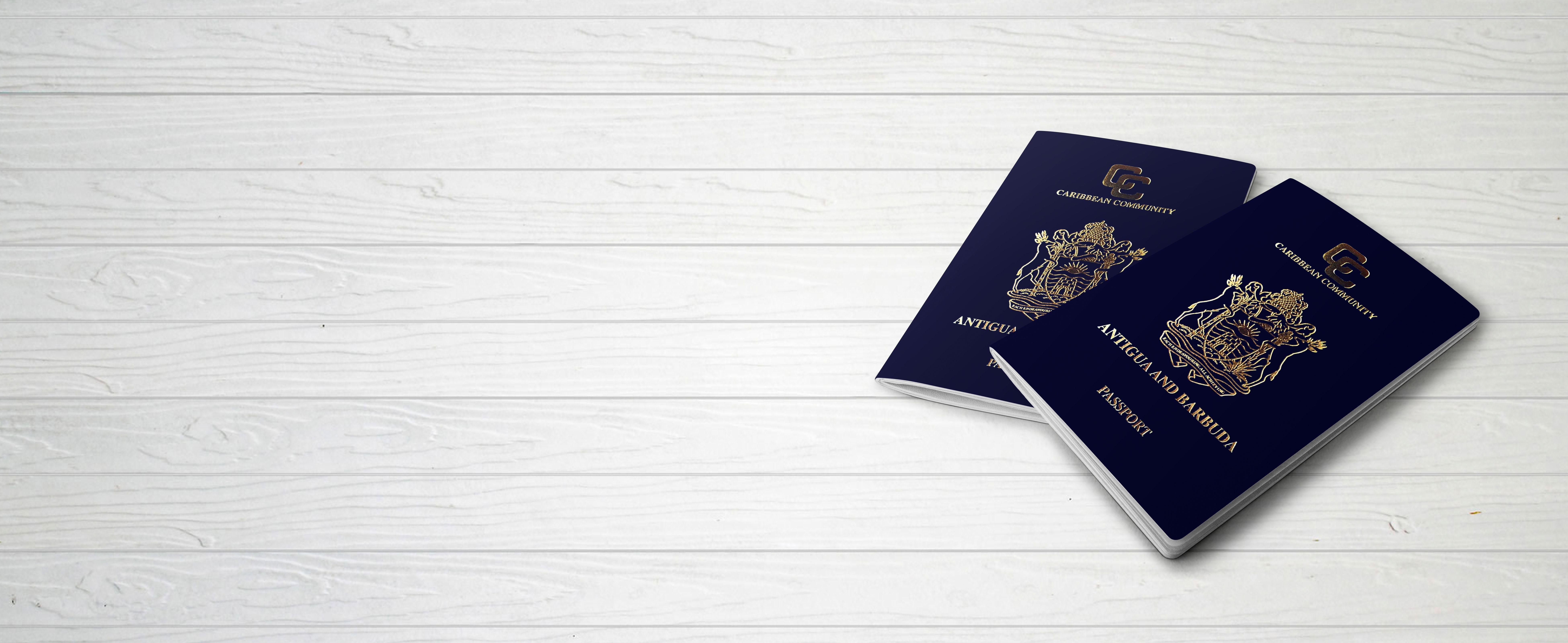 Паспорт Антигуа и Барбуды, который могут получить иностранцы