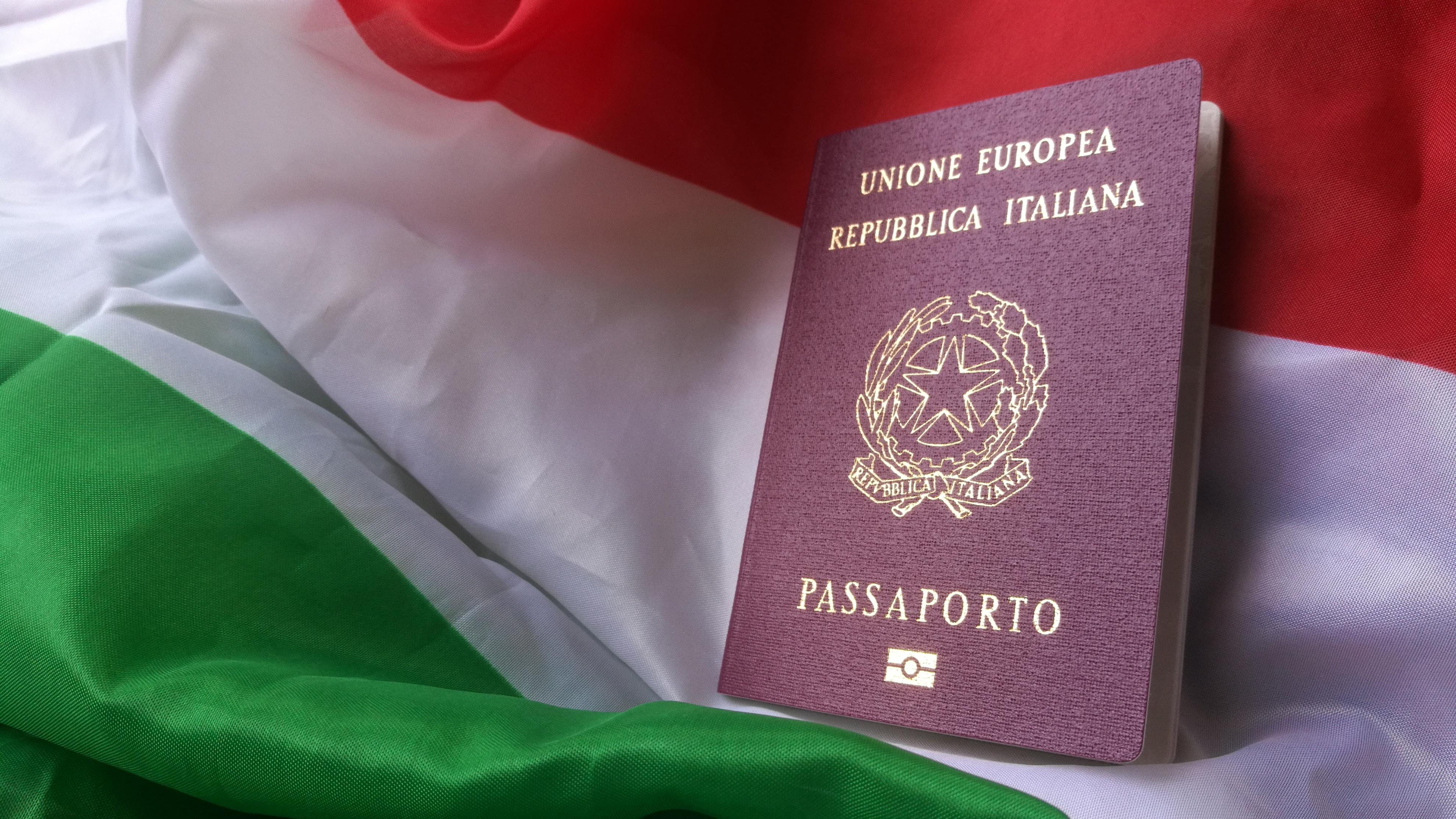 Оформление паспорта Италии для получения итальянского гражданства