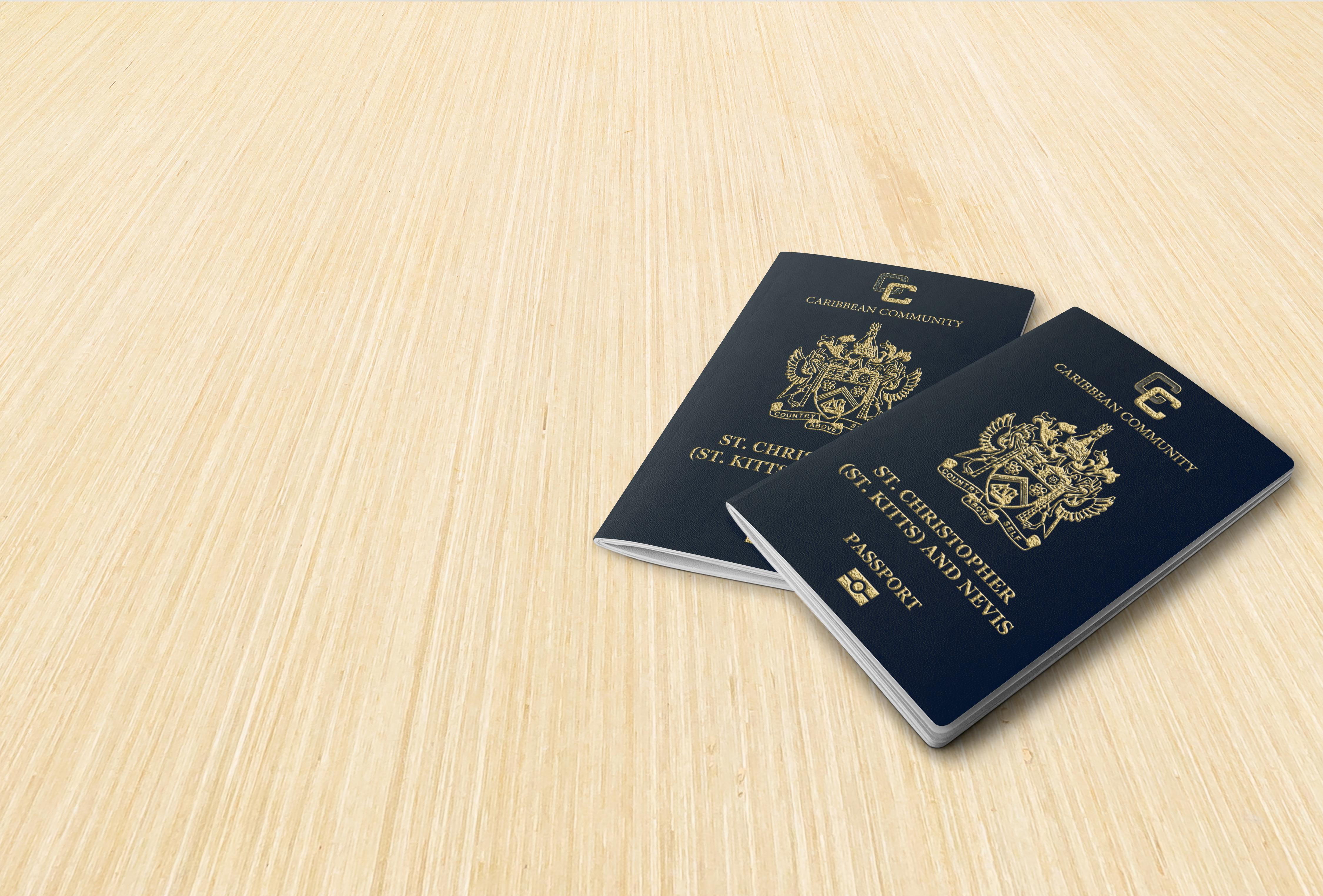 Паспорт Сент-Китса и Невиса, который могут получить иностранцы