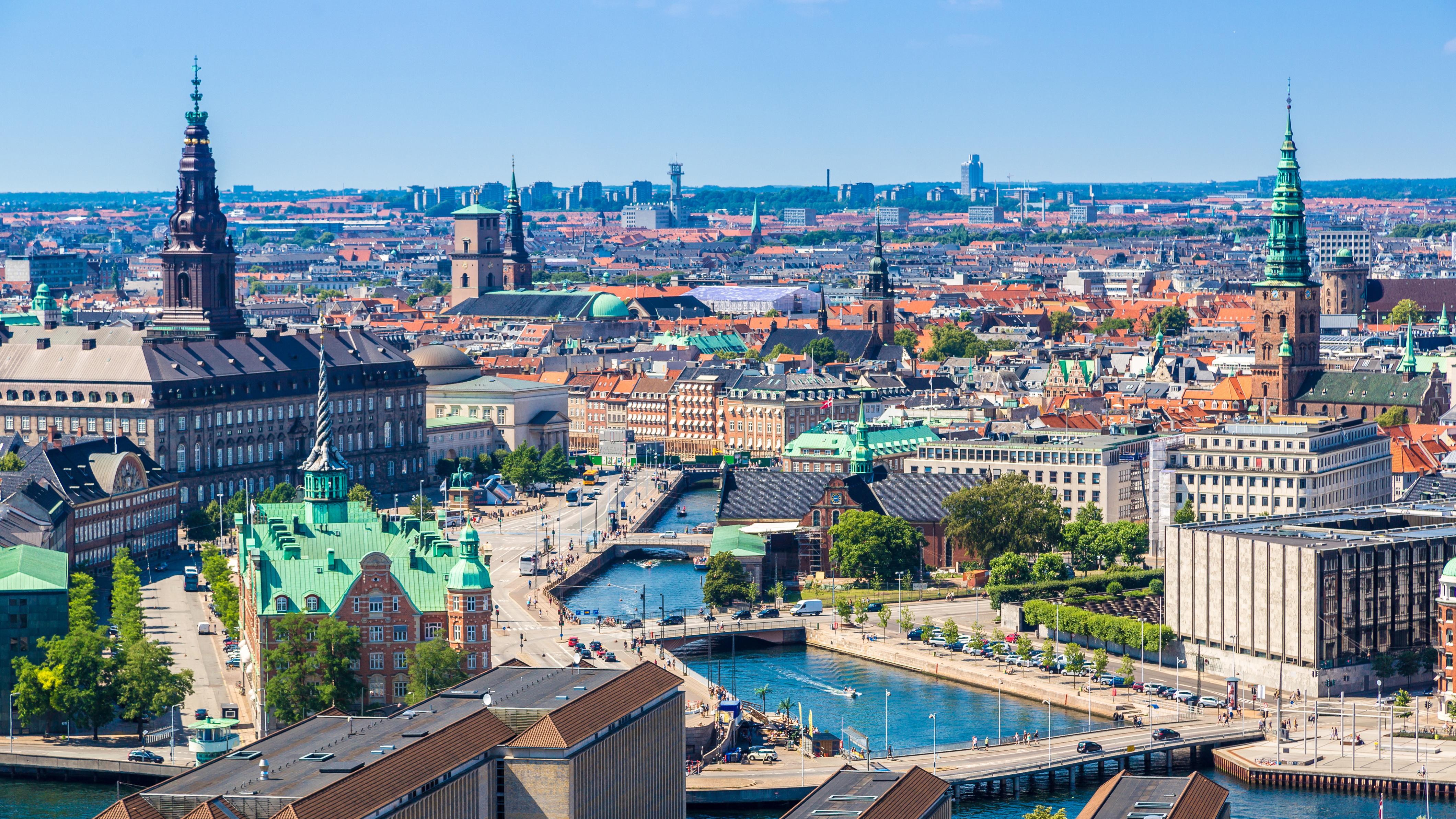 Копенгаген столица Дании, ПМЖ которой могут получить россияне, украинцы и белорусы