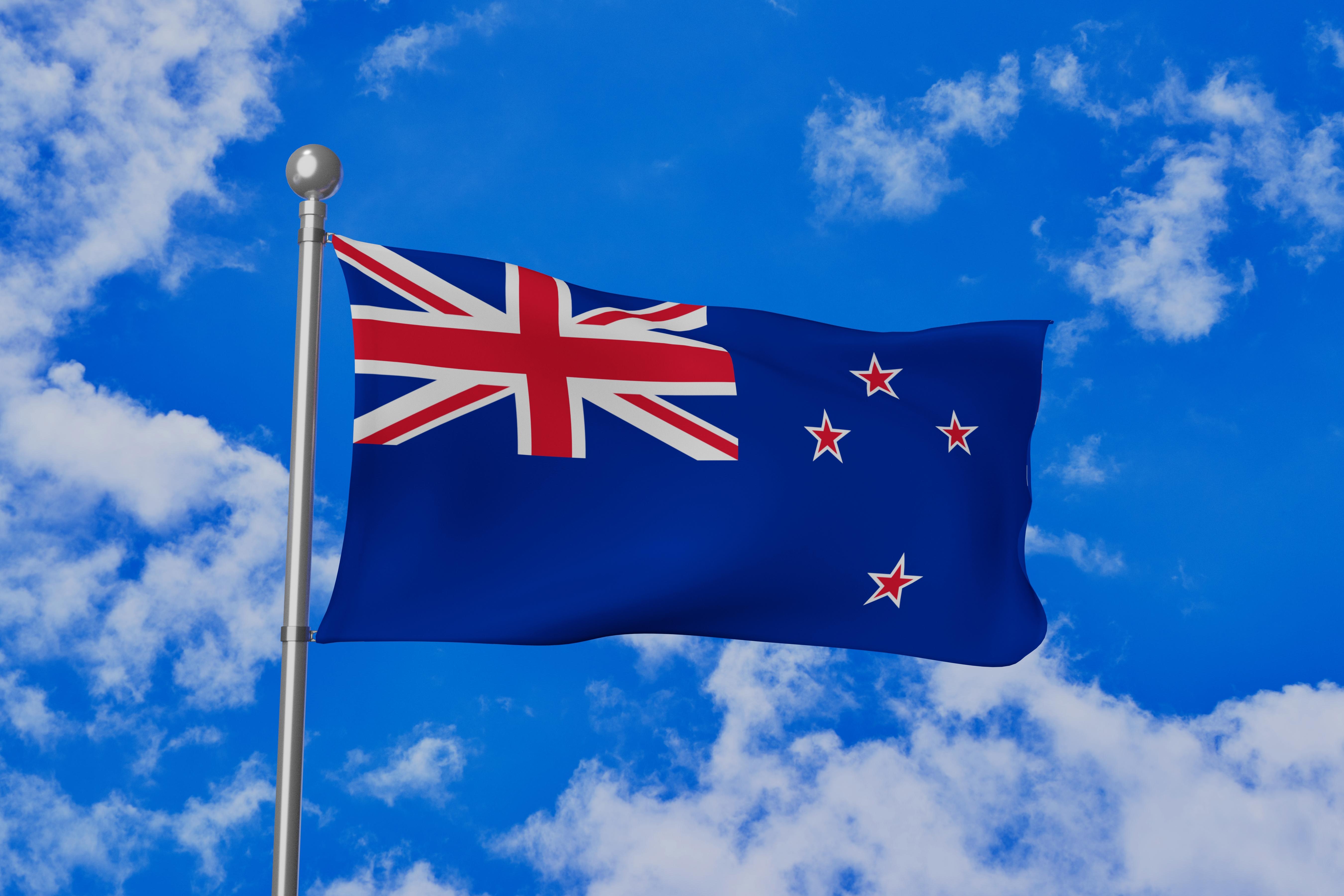 Флаг Новой Зеландии, ПМЖ которой могут получить иностранцы