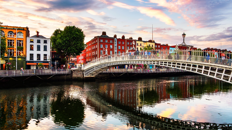 Дублин столица Ирландии ВНЖ которой могут получить россияне, украинцы и белорусы
