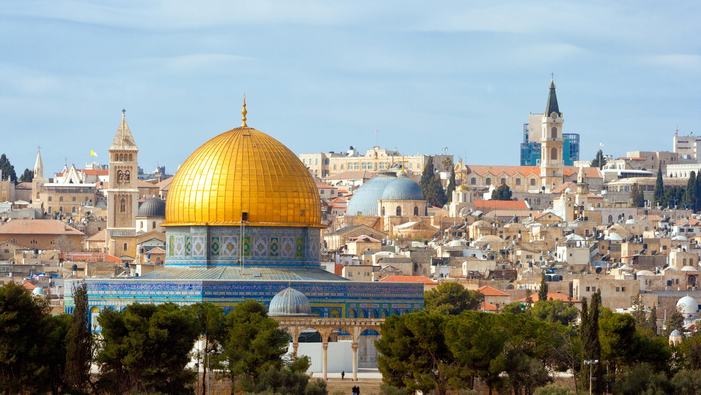Панорама Иерусалима, столицы Израиля, ВНЖ которого могут получить россияне