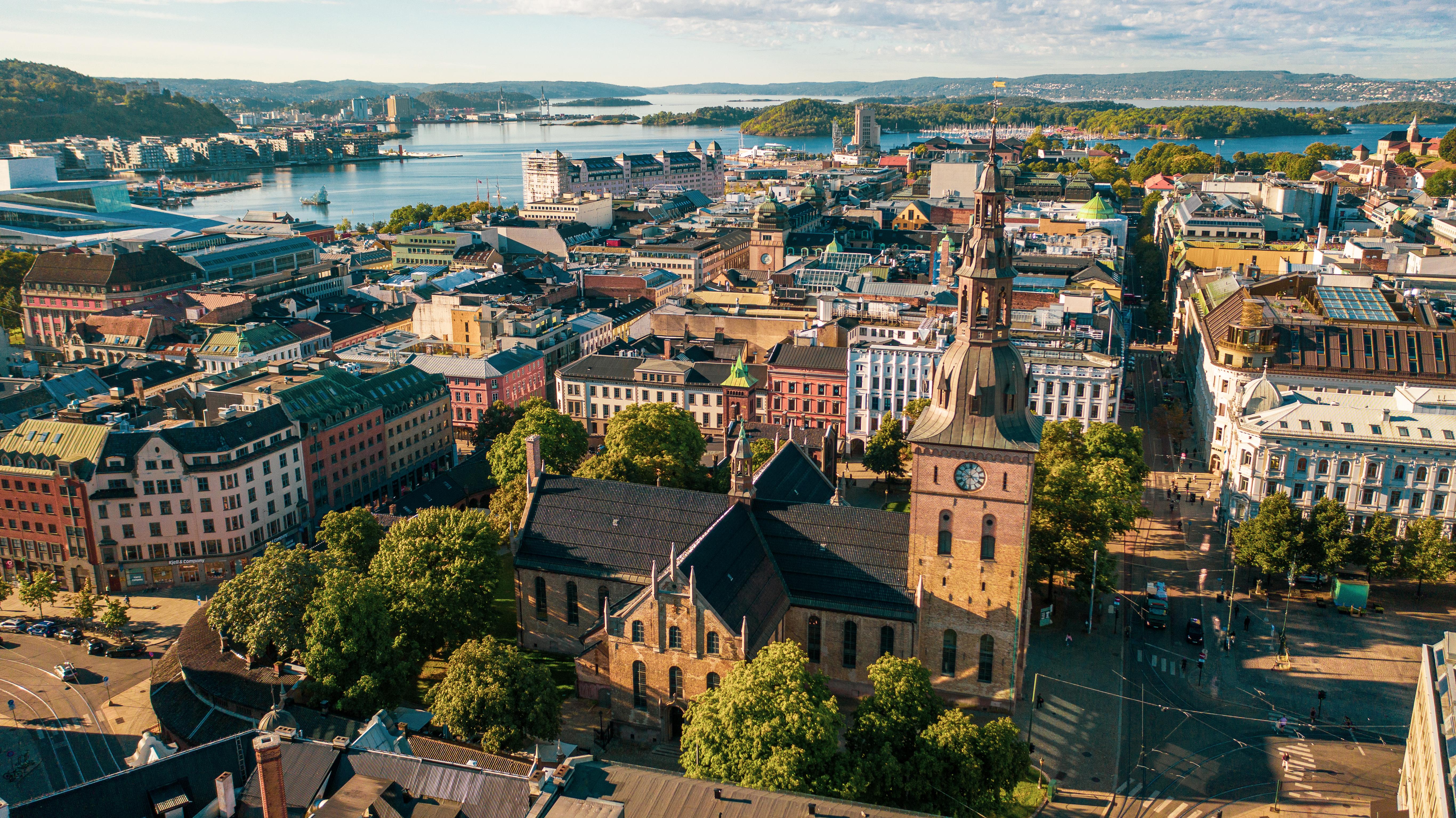 Осло, столица Норвегии, ВНЖ которой могут получить иностранцы