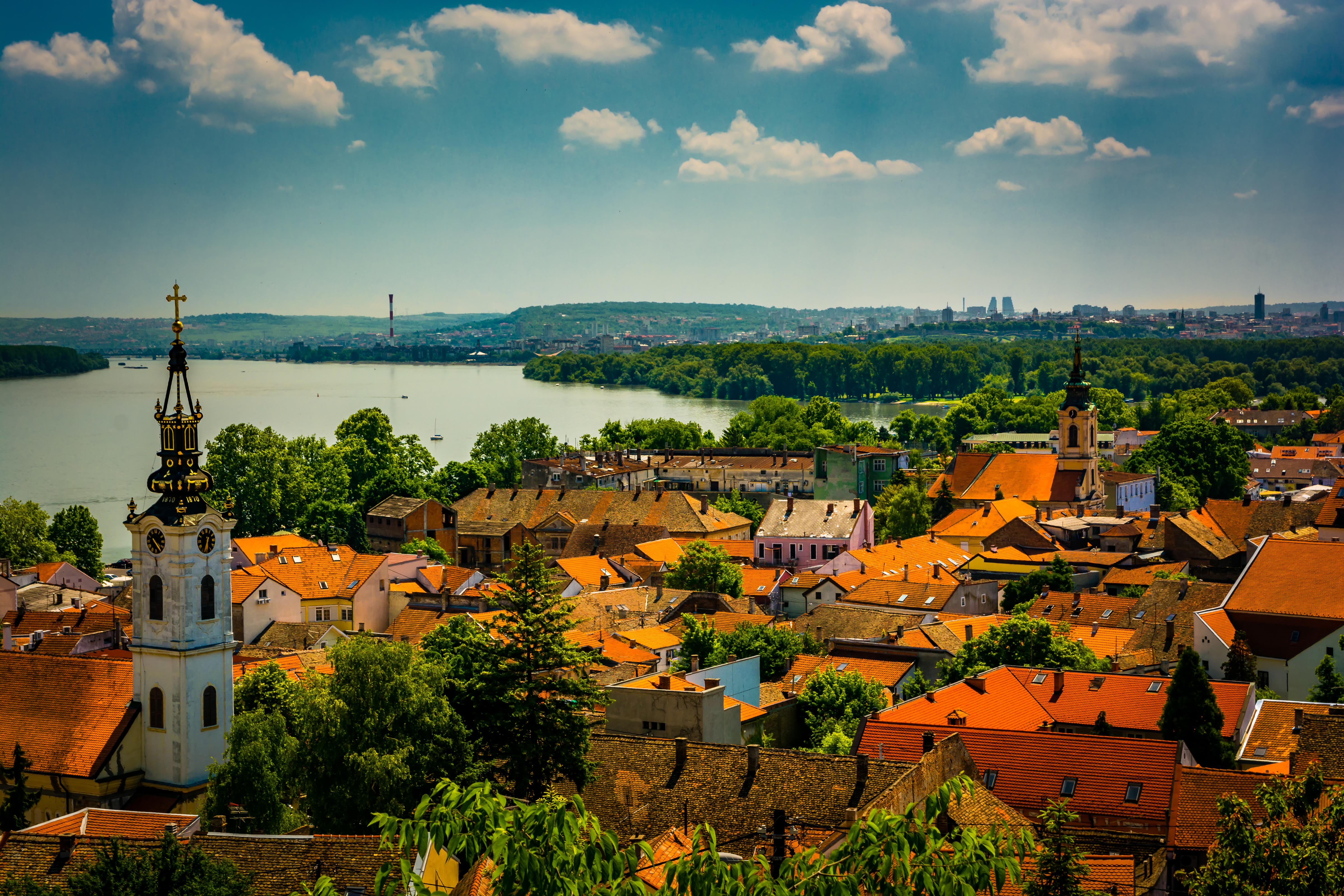 Белград, столица Сербии, ВНЖ которой могут получить иностранцы