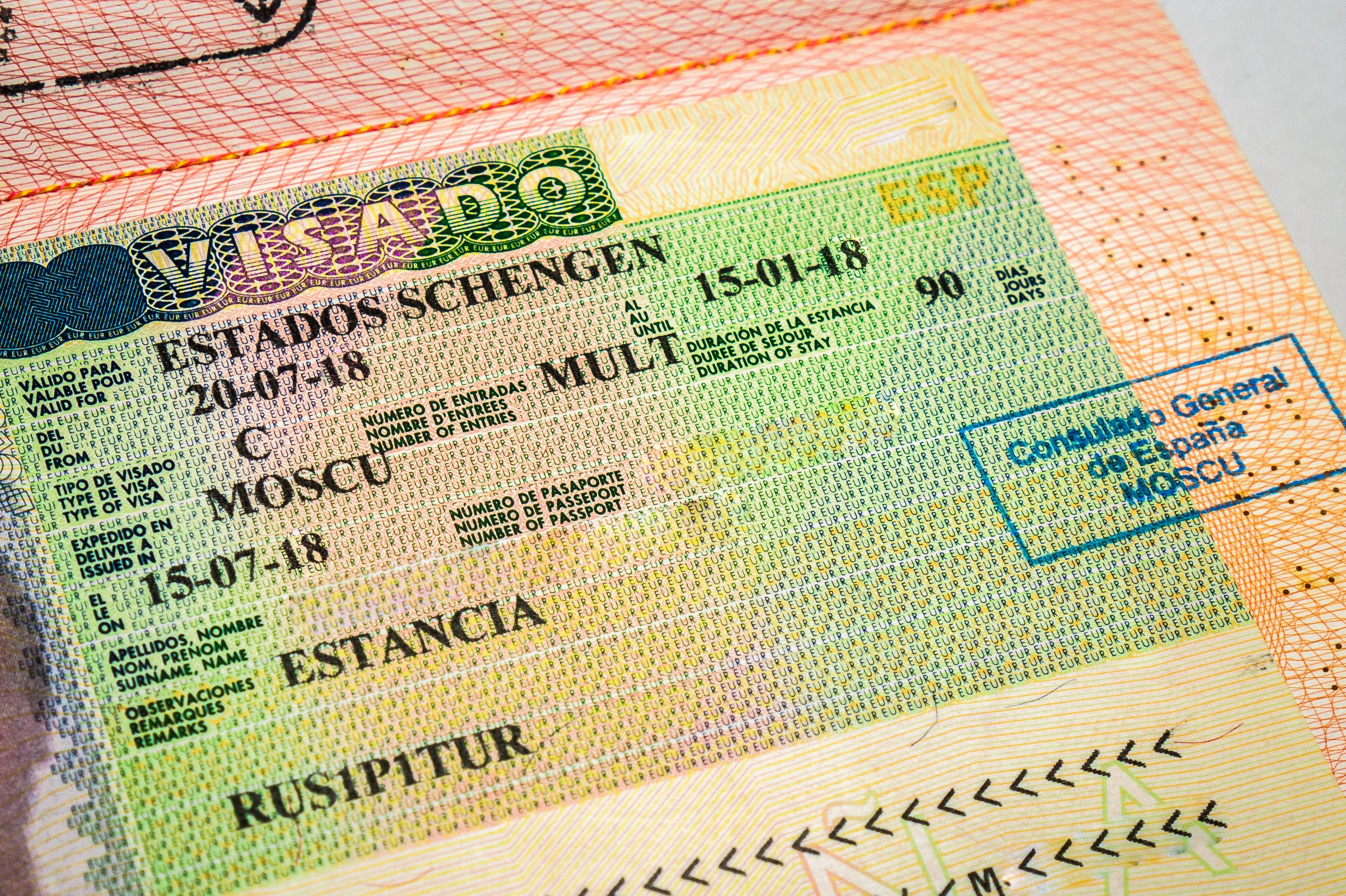 Национальная виза в Испанию
