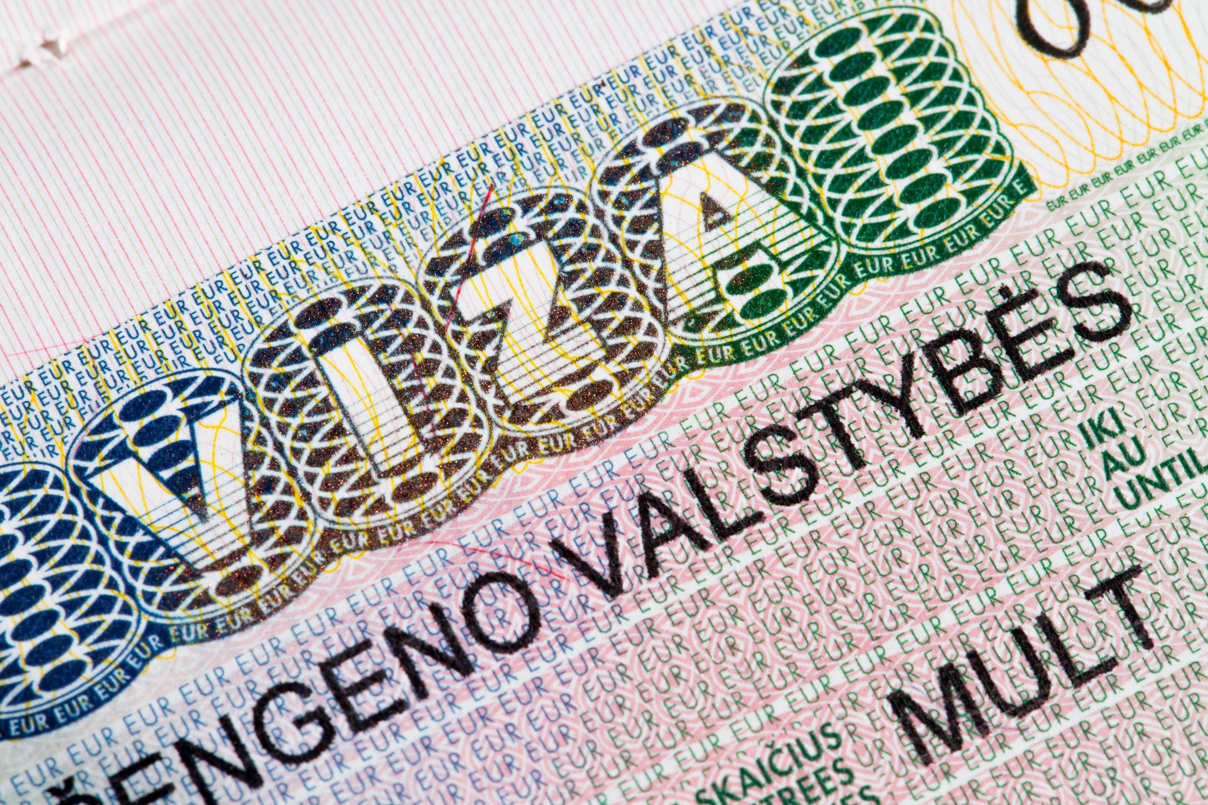 Виза в Литву, которую надо оформлять иностранцам
