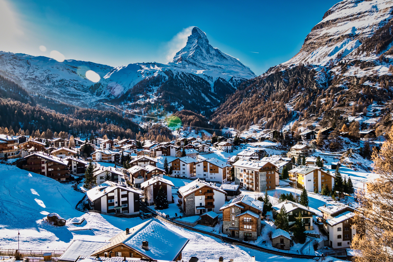 Город в Швейцарии, стране, недвижимость в которой могут купить иностранцы