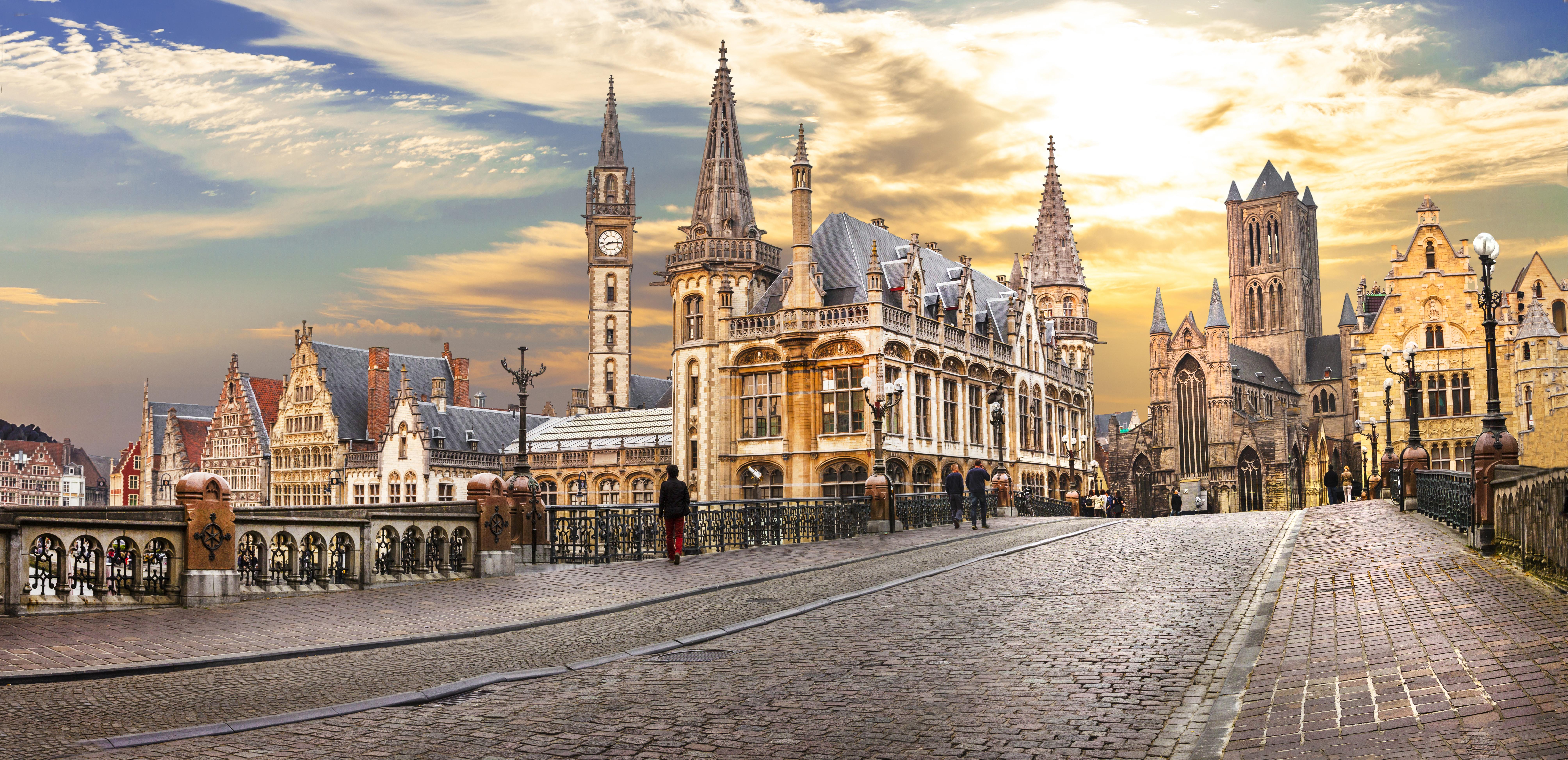 Бельгийский город Гент, недвижимость в котором могут купить иностранцы