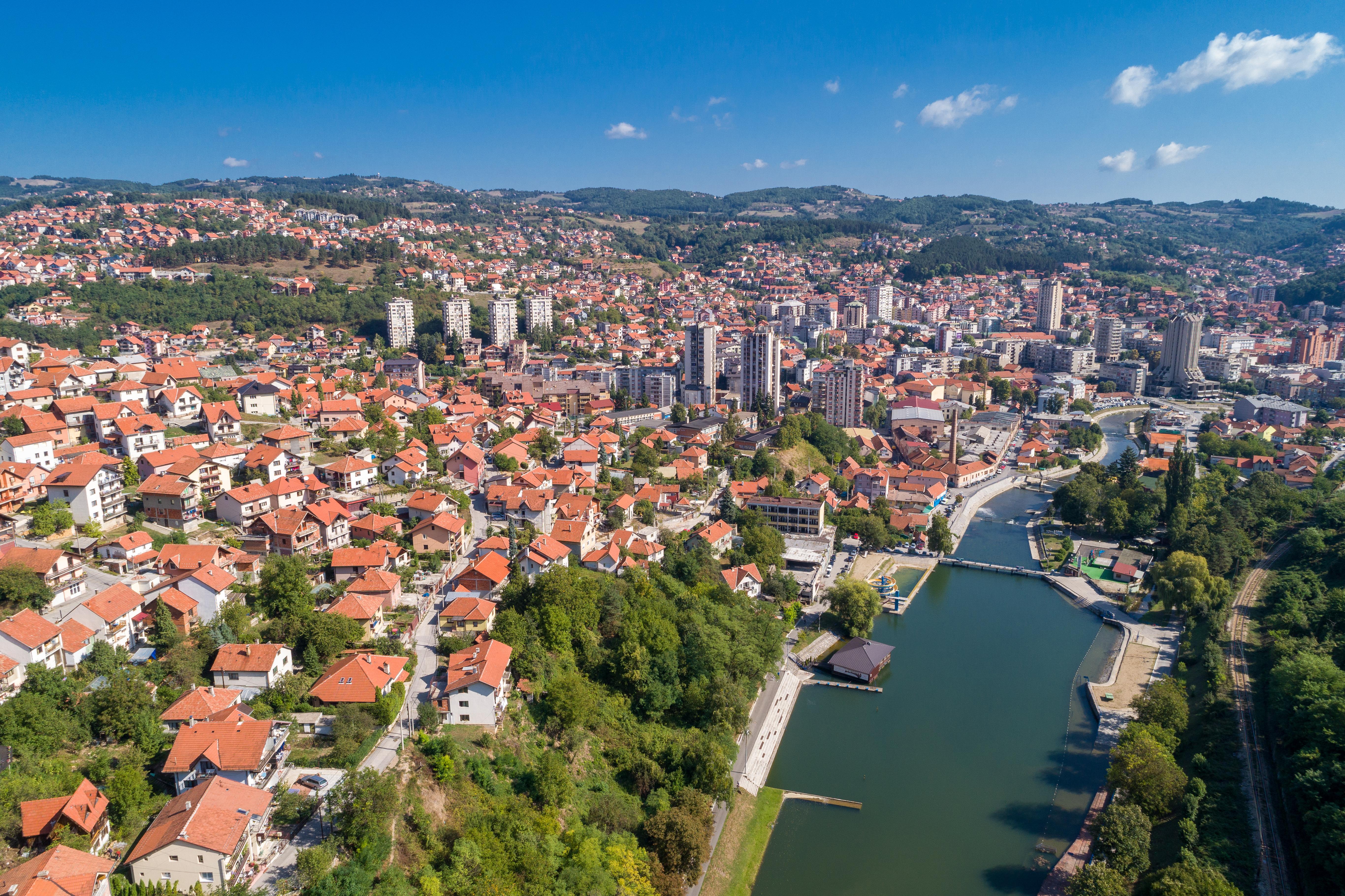 Сербский город Ужице, недвижимость в котором могут купить иностранцы