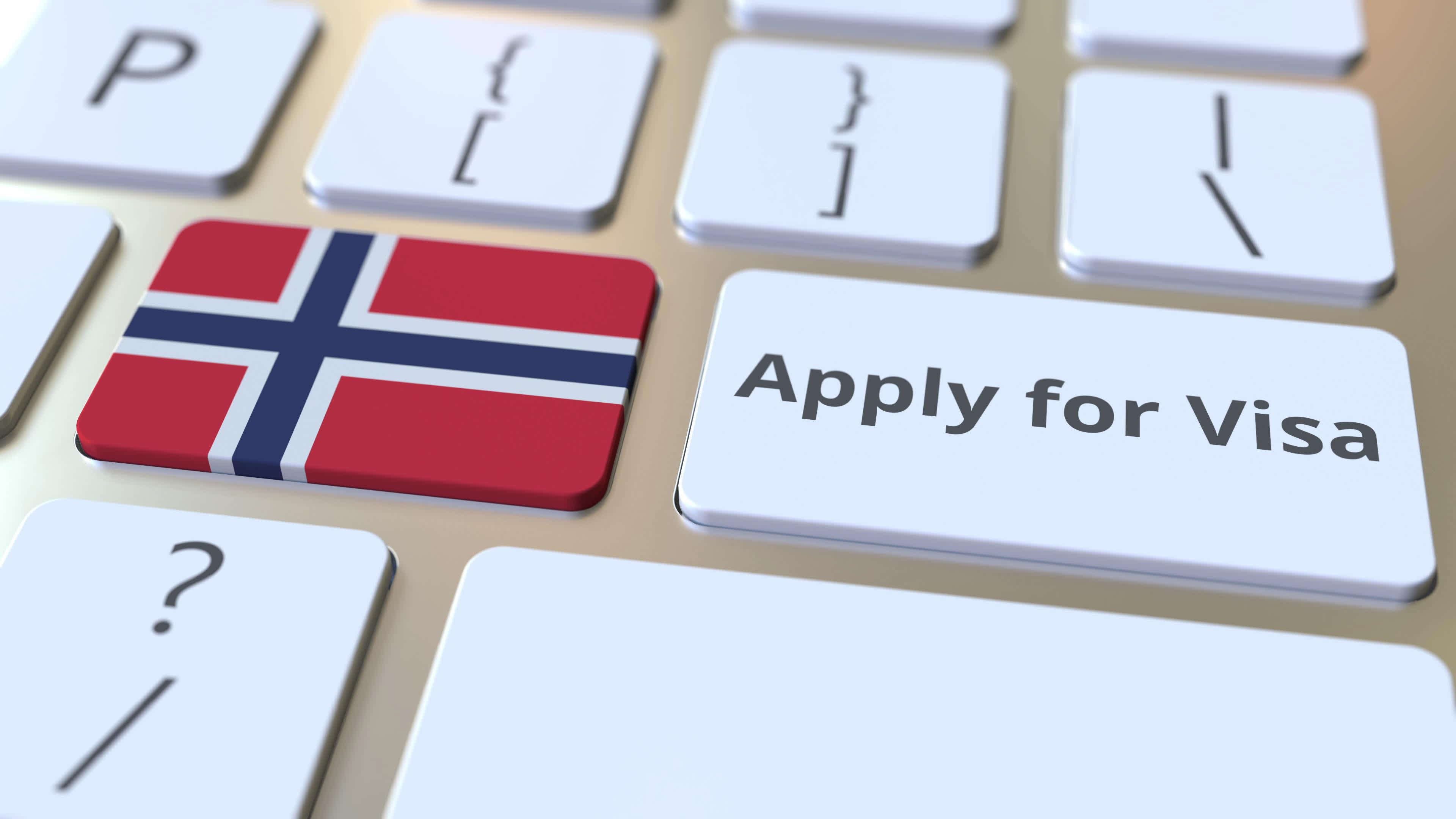 Концепция получения визы для работы в Норвегии