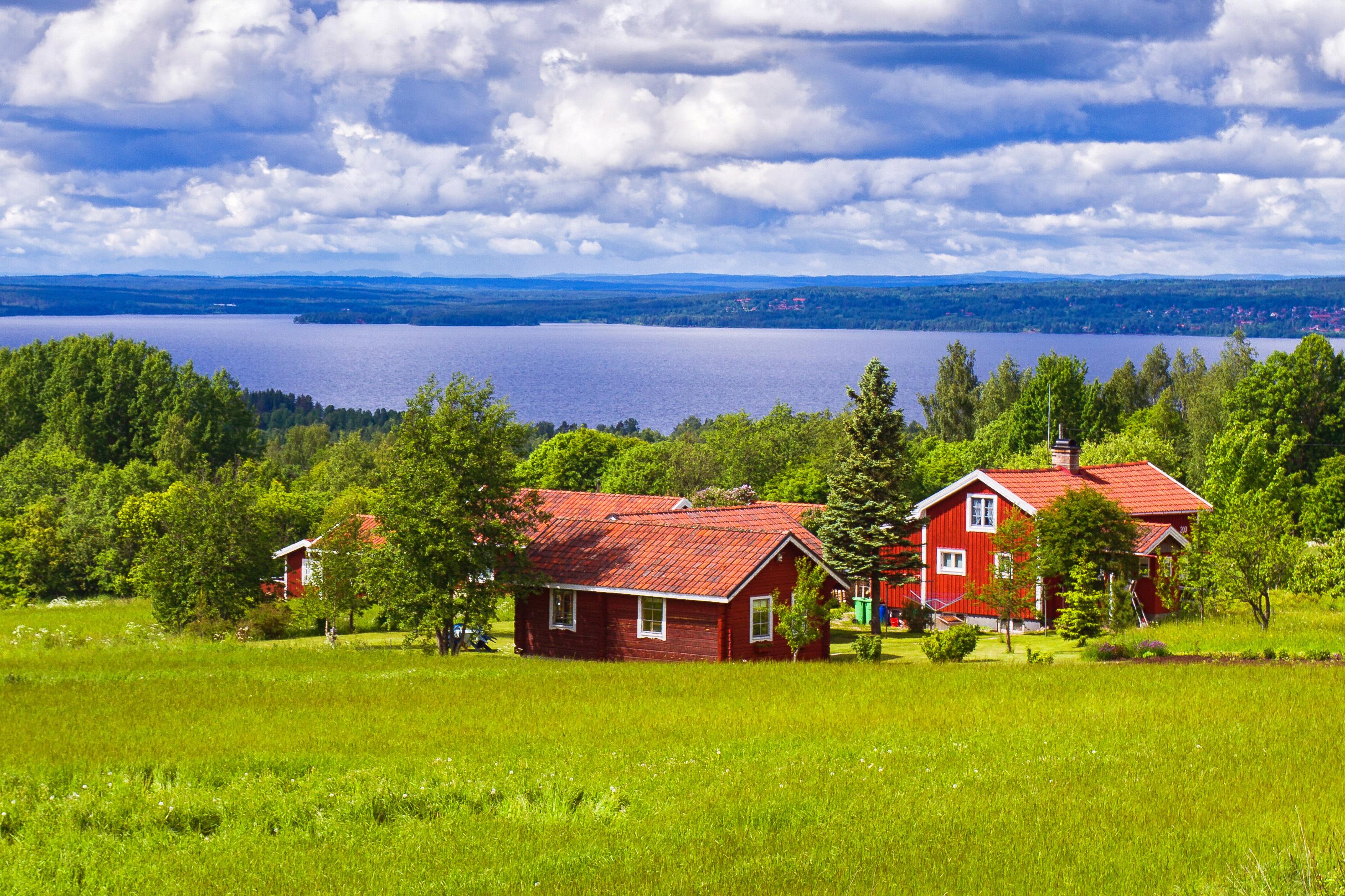 Шведские дома, которые могут купить иностранцы