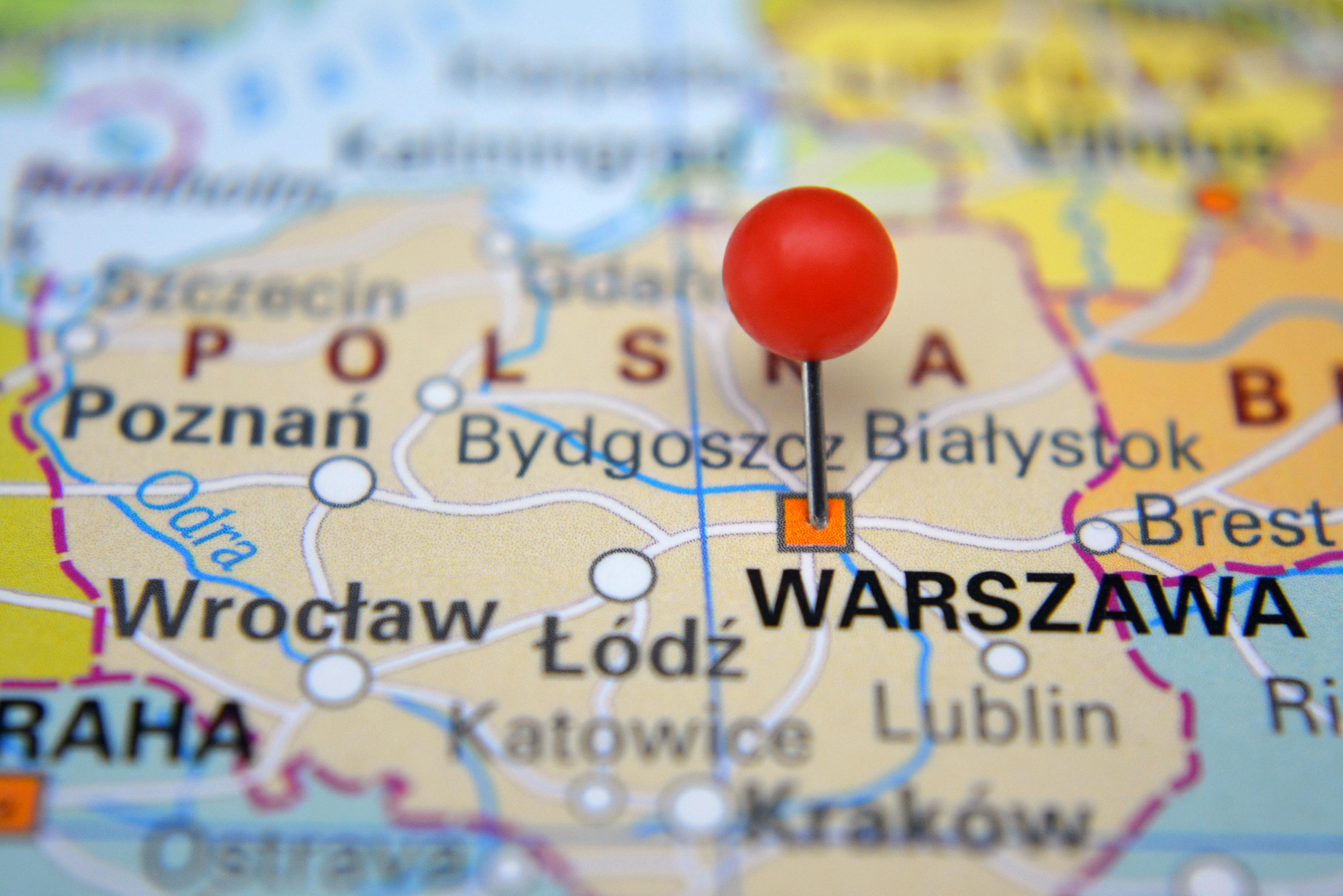 Карта Польши, где можно бесплатно получить визу D по Карте Поляка