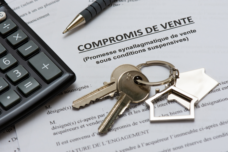 Подписание договора купли/продажи недвижимости во Франции
